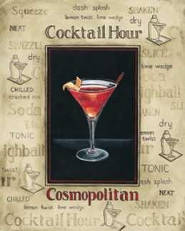 Classic Cosmopolitan | SHAKEN, NOT STIRRED | Pinterest