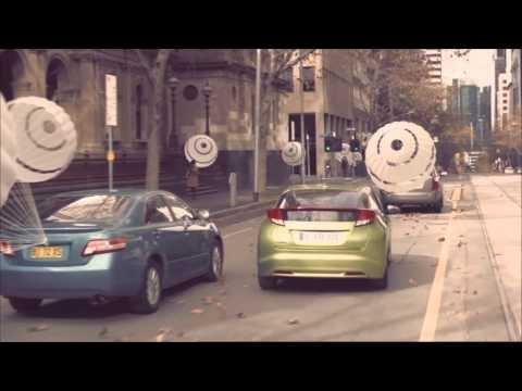 "Honda Civic Hatch 2012 ""Outsmart the wind"" - Honda Australia"