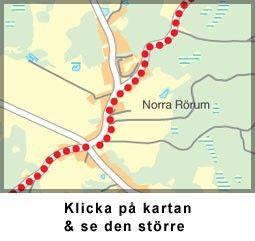 Karta, Norra Rörum, norr om Höör