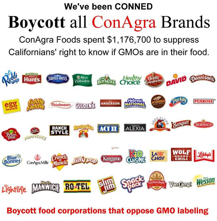 http://www.facebook.com/occupymonsanto    Follow link to see more companies with GMOs