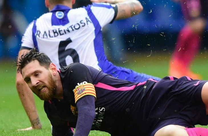 Video Pertandingan Deportivo La Coruna vs Barcelona 2-1 Hasil Liga Spanyol 2017