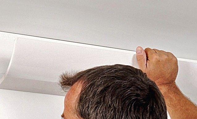 Les 25 meilleures id es de la cat gorie clairage corniche for Plafond facile a poser