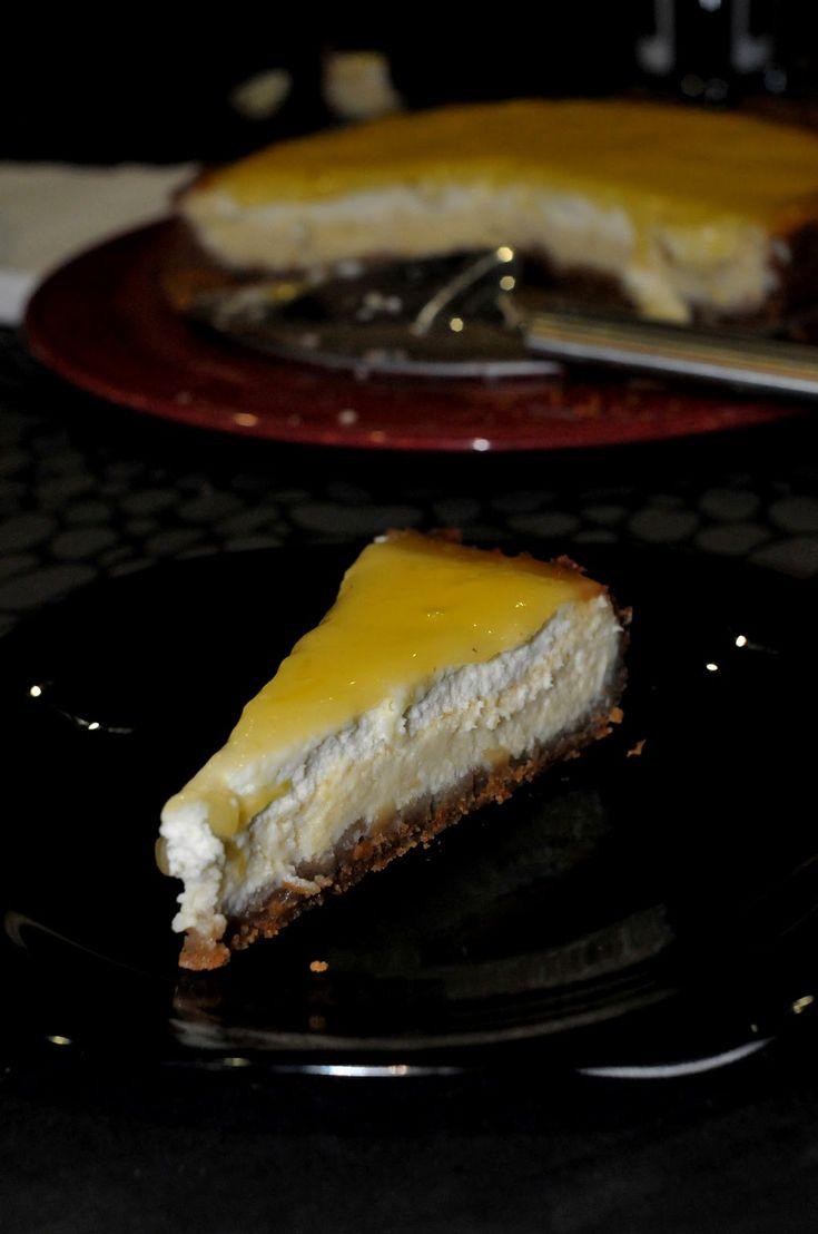 Entre Tachos e Sabores: Cheesecake de Limão