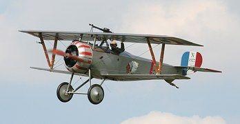 Nieuport 17, Avion De Chasse Biplan