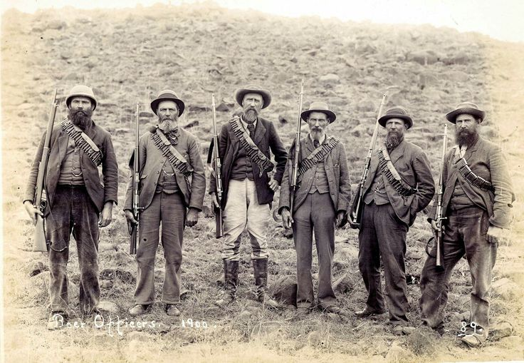 'As tough as they come' Boer Officers from Lydenburg ABW... NICO Moolman
