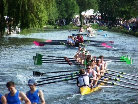 College eight against College eight.  Which Cambridge College will be Head of the river 2013?