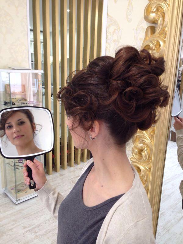 17 best images about peinados on pinterest jennifer love for Recogidos altos para novias