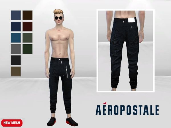Yoyo Let Loose Pants by McLayneSims at TSR • Sims 4 Updates