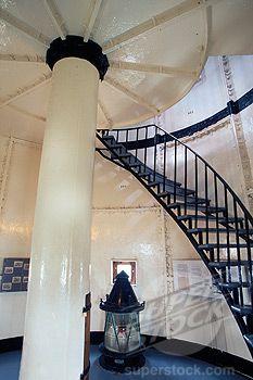 Interiors of Gibbs Hill #Lighthouse - Gibbs Hill, #Bermuda    http://www.roanokemyhomesweethome.com