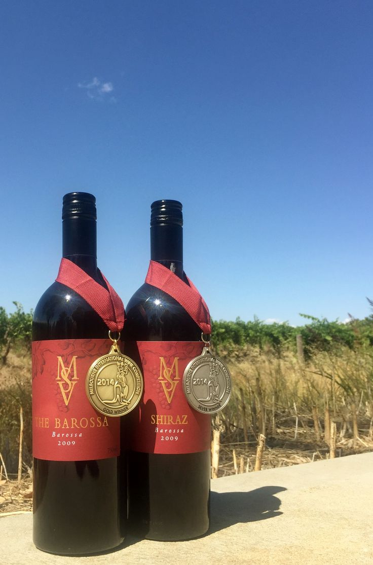Our wines are basking in the sunshine and the glory of their two latest medals.  Gold for the 2009 Barossa and Silver for the 2009 Red Label Shiraz from the Melbourne International Wine Competition.  Enjoy these right now or test yourself and cellar them for up to 10 years!  @MelbIntlComp @msvwine