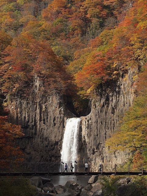 Naena Fall, Nigata, Japan
