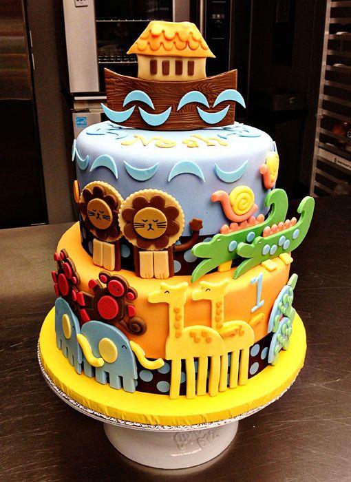 noah' ark cake - The English Pea Style                                                                                                                                                                                 Más