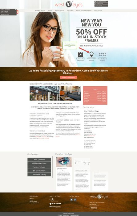 Find out more about our optometry office West 10th Eyes in West Vancouver.  Visit our website at http://west10theyes.com/