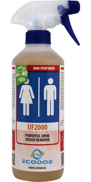 UF2000 - 500 ml urine geur verwijderaar (kattenpis, stinkende wc´s). Goh, wist helemaal niet dat dit bestond.