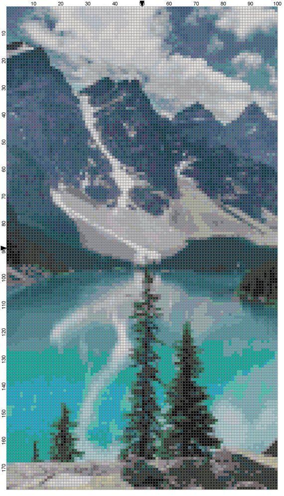 Banff National Park Lake Louise Alberta by theelegantstitchery