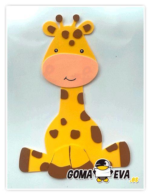 M s de 1000 ideas sobre fiesta de jirafa en pinterest for Sobres de goma eva