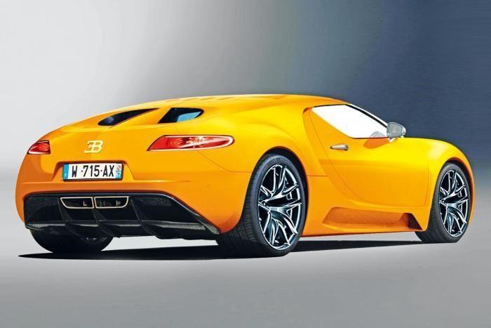 Quiere seguir siendo el rey: así podría ser el nuevo Bugatti Veyron de 1.600 CV - Diariomotor