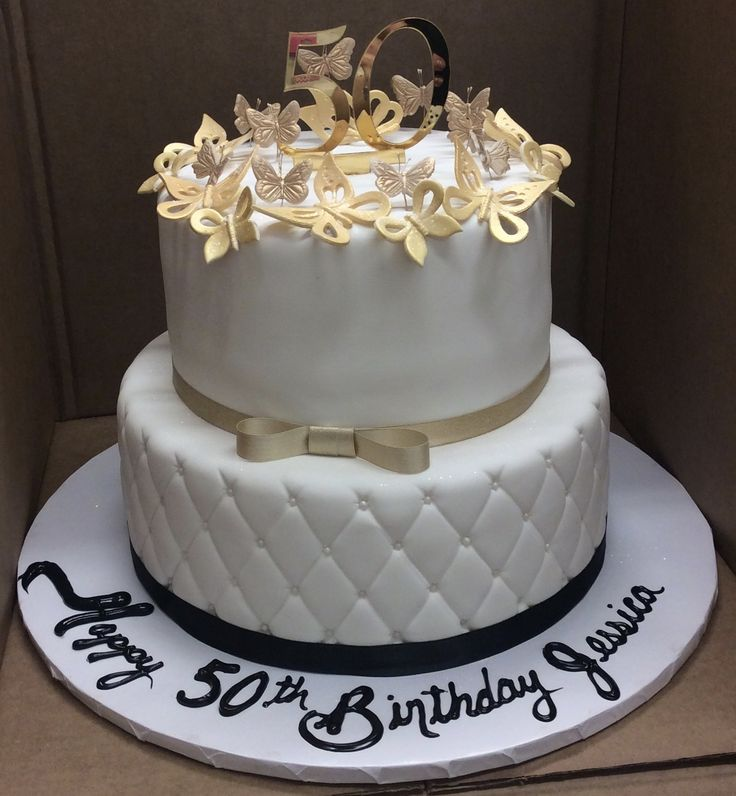 best images about Fondant Birthday Cakes on Pinterest  50th birthday ...