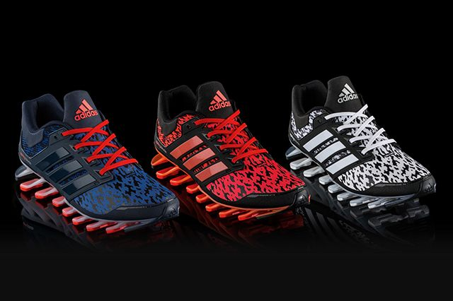 ADIDAS SPRINGBLADE UNCAGED FINISH LINE EXCLUSIVE COLOURWAYS - Sneaker Freaker