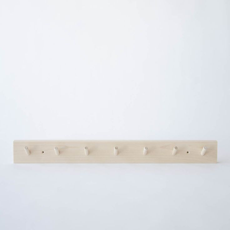 Image of peg rail - 7 hooks