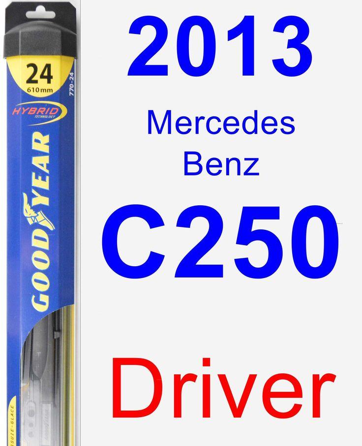 Driver Wiper Blade for 2013 Mercedes-Benz C250 - Hybrid