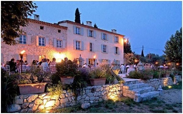 Bastide st Mathieu, wedding venue in South of France via French Wedding Style