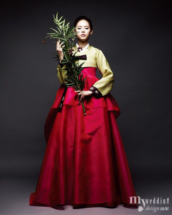 Fusion 한복 Hanbok / Traditional Korean dress