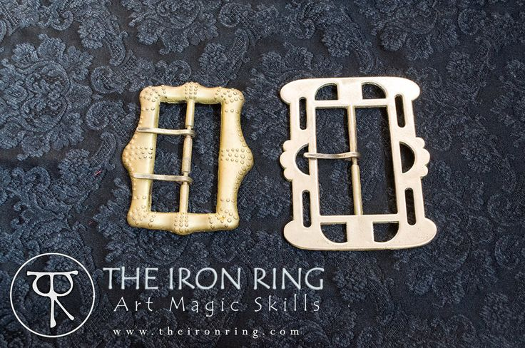 Teague Sparrow baldric and belt buckles by TheIronRing