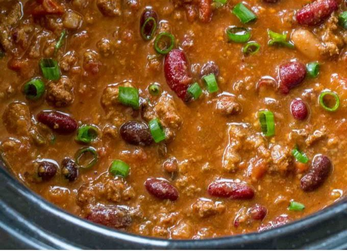 Slow Cooker Beef Chili Slow Cooker Chili Beef Healthy Slow Cooker Recipes