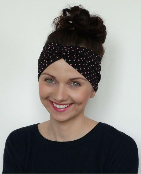 Opaska turban elastyczna bawełna  w Milori na DaWanda.com