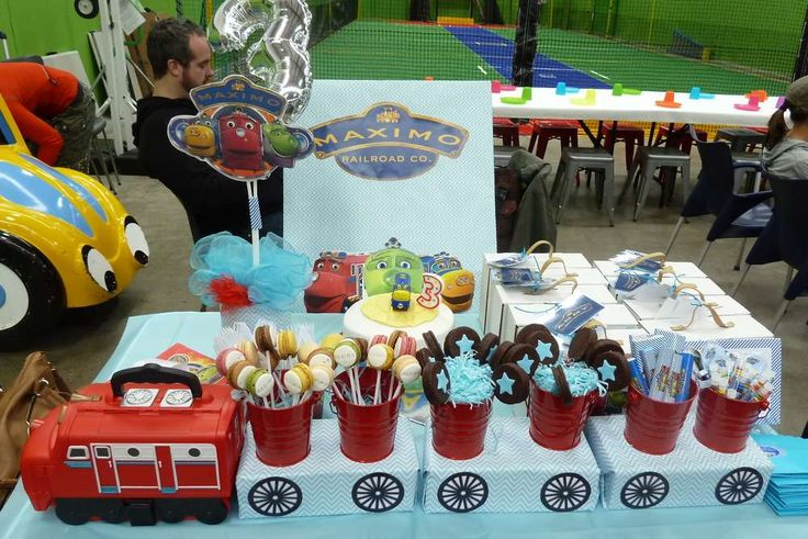 Chuggington Traintastic Party | CatchMyParty.com