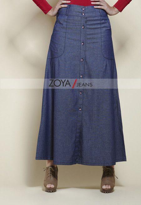 ALINE SKIRT jeans by Zoya.. kereen ;)