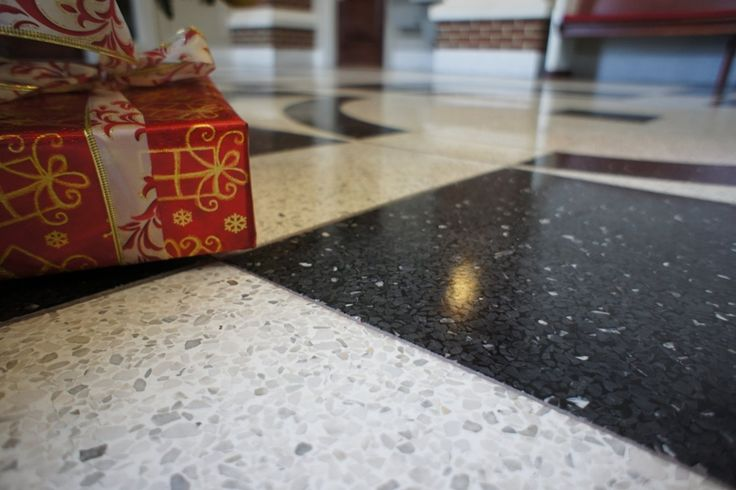 Why Choose A Terrazzo Tile - http://flooringidea.backtobosnia.com/why-choose-a-terrazzo-tile/ : #TileIdeas Why Choose A Terrazzo Tile- The terrazzo tiles are an excellent choice for use in soils , there are many reasons that make this tile choice: as terrazzo is done by incorporating grains of marble, granite, quartz or glass in a cement-based tile it retains many of the aesthetic qualities of ...