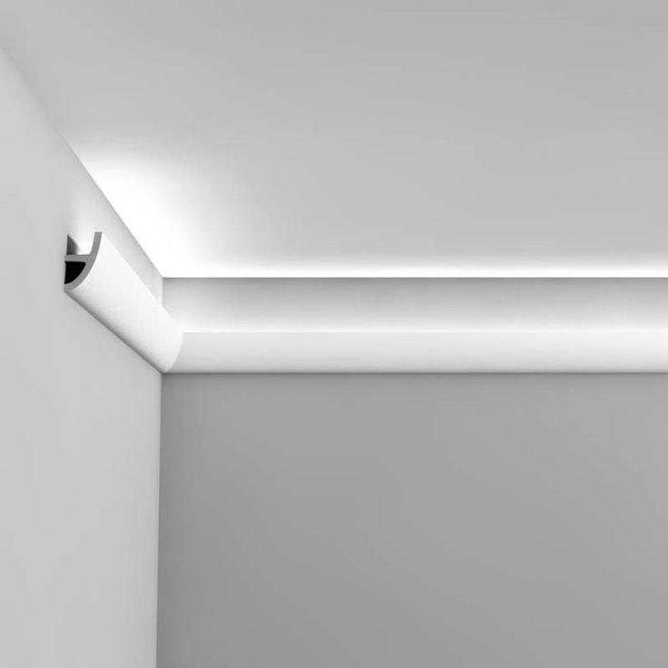 Taklister Luxxus för indirekt ljus gör det möjligt att placera ljuskällor i listen och belysa taket indirekt. Indirekt ljus förstärker rumskänslan och är det bästa sättet att ge ett gott orienteringsljus.