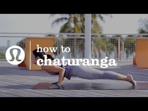 How to chatarunga -i always have such trouble with this after a hard set of poses. I need to remember to do it correctly and not give up.