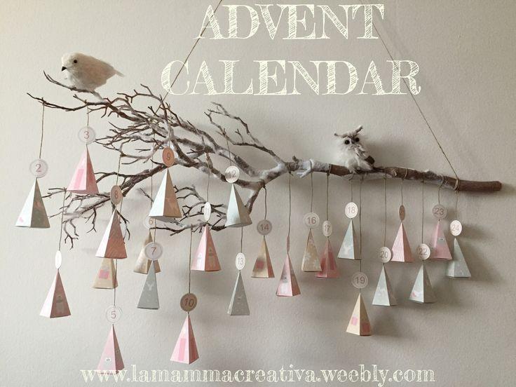 Advent Calendar Free Template Download