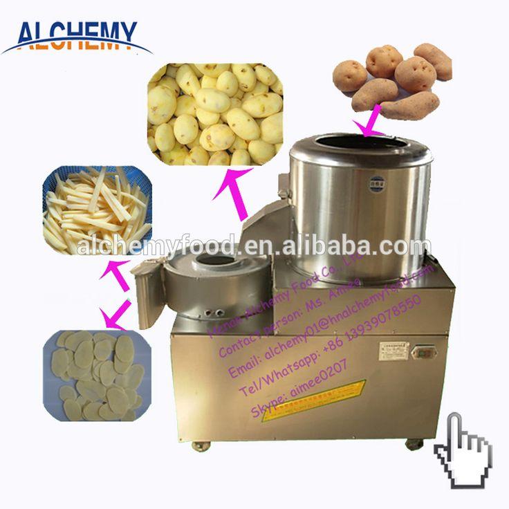 commercial electric potato peeler machine price potato chips cutter slicer