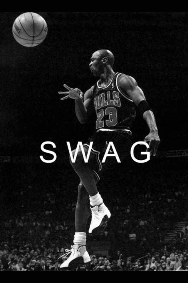 MJ has that swag.. hell yea
