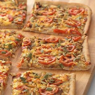 delicious vegetarian pizza idea