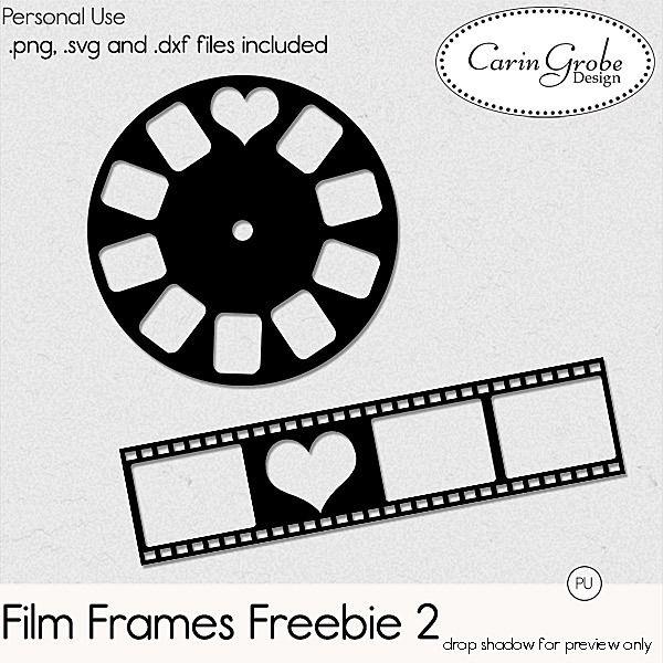 FREE cutting files- Film Frames 2