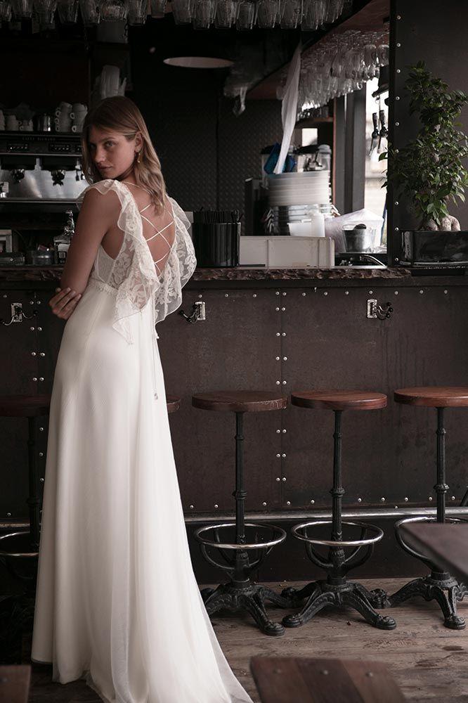 Robe de mariée bohème – Collection Instantanée