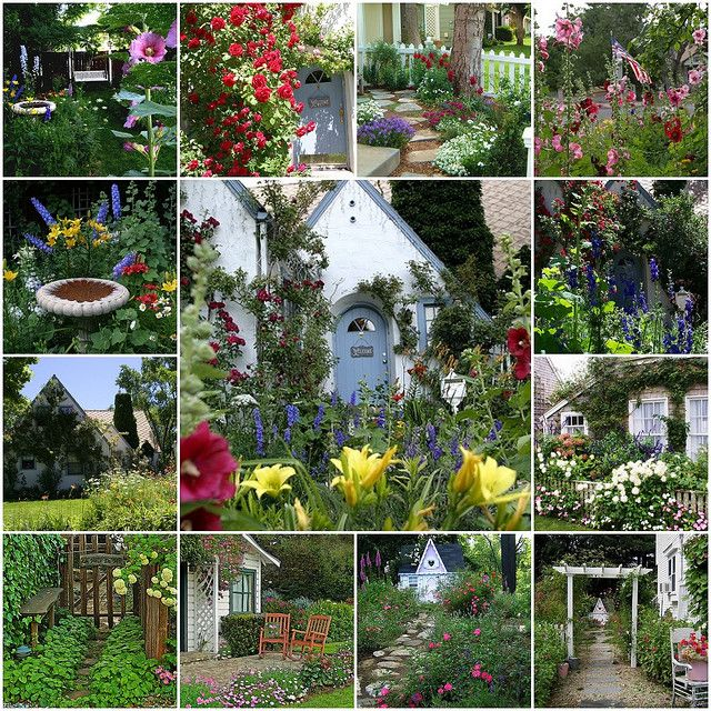 Beautiful Cottage Flower Garden 209 best gardens: cottage gardens images on pinterest | gardens