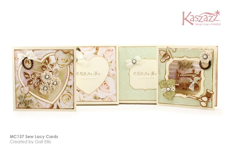 MC137 Sew Lacy Cards