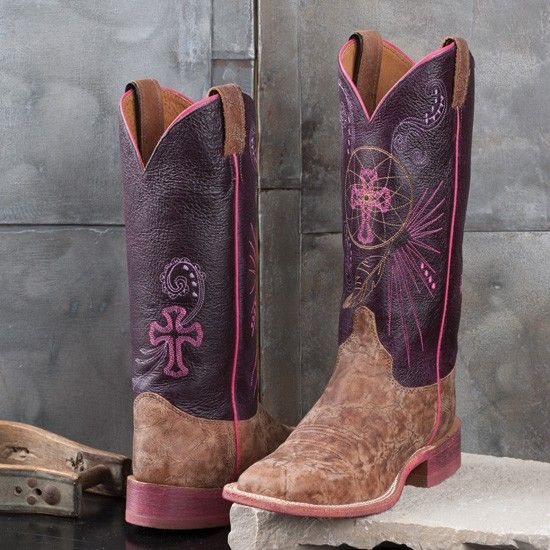Justin Ladies' Dream Catcher Bent Rail Boots