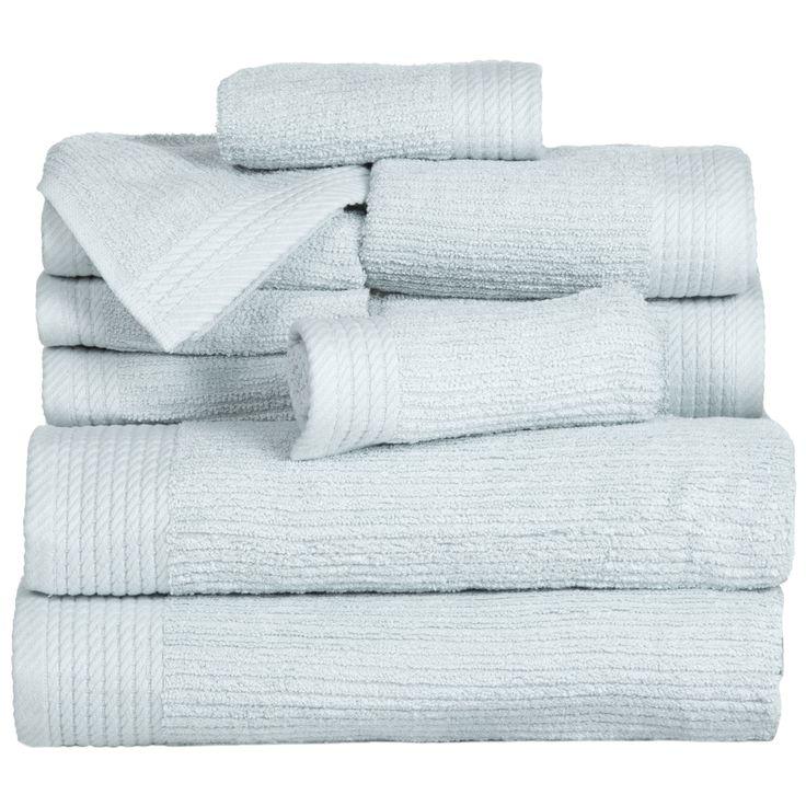 10-Piece Egyptian Cotton Towel Set