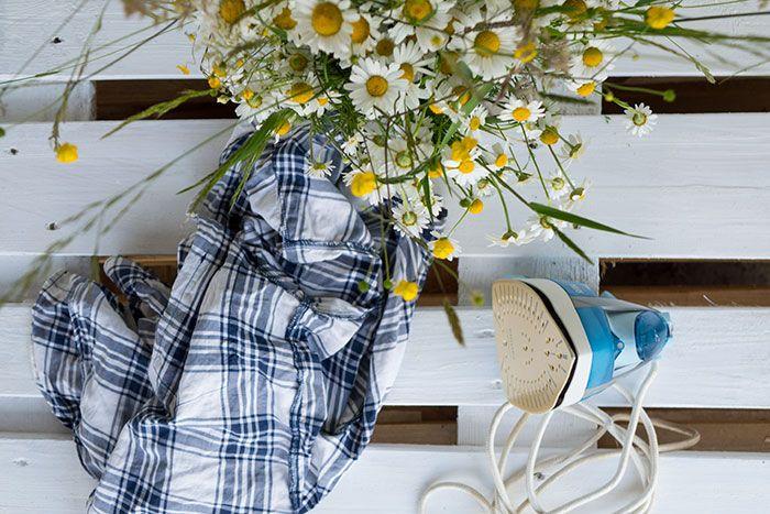 Zielony Zagonek Jak szybko wyprasować ubrania - 13 trików - Zielony Zagonek