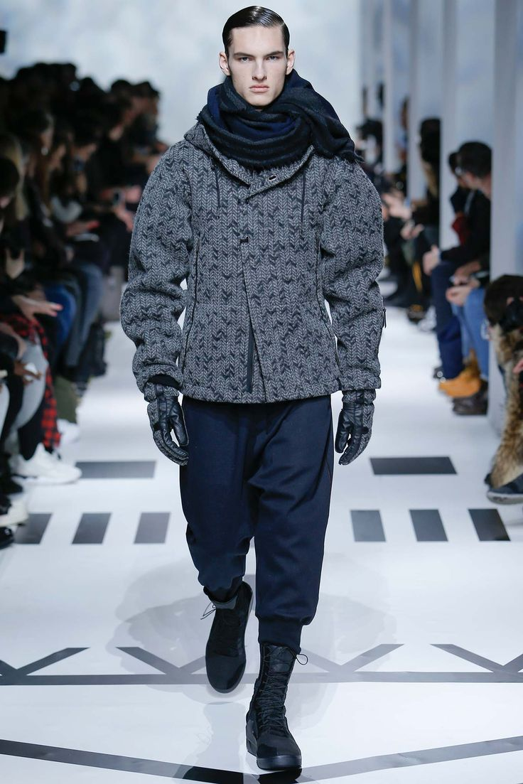 Y-3 Mens - Paris   #2015 #2016, #automne #hiver, #Y3 #Y-3 #collection, #hommes, #Mens, #menswear, #Mode, #parisfashionweek #fall #winter #Style