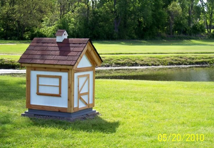 Water well pump house shelf life formerly preppers for Garden pool doomsday preppers