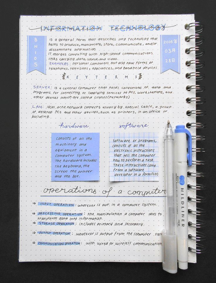 study note I'll be giving 10 tips for how to take neat and effective study notes, using a  squared a4 whitelines link notebook the paper really makes your.