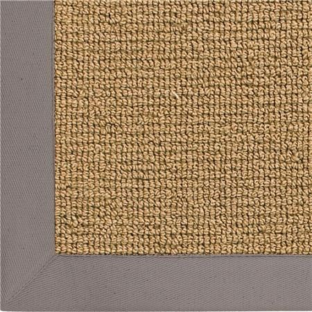 Wool Sisal w/ Cotton Twill Binding Rug